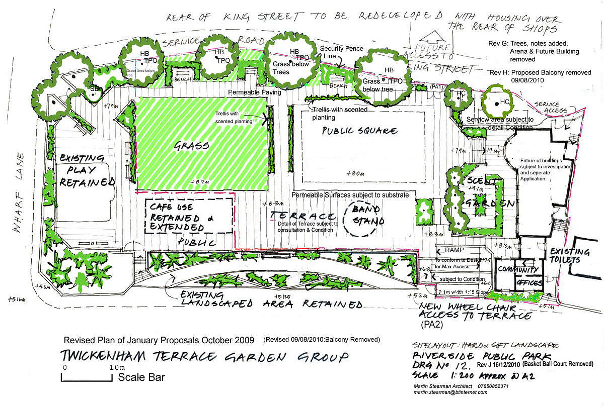 The twickenham riverside terrace group 39 s plan for the poolsite for The terrace group